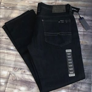 Buffalo jeans Evan-X slim straight stretch dark